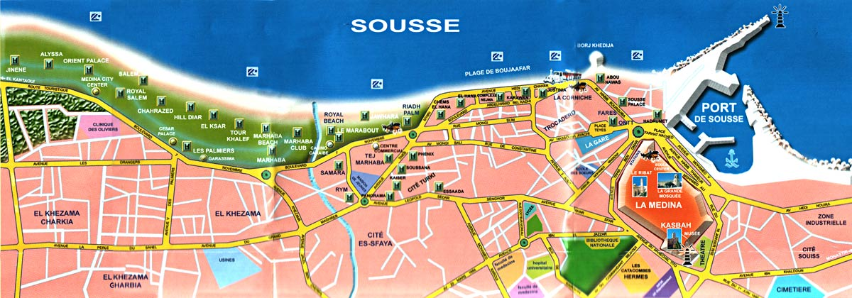 Карта сусса